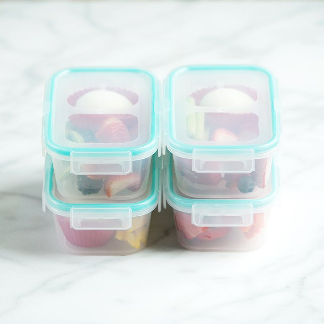 Make ahead snack boxes for kids and teen athletes by This Lunch Rox