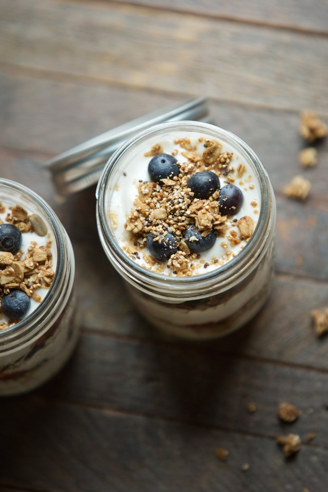 Yogurt parfait recipe by This Lunch Rox
